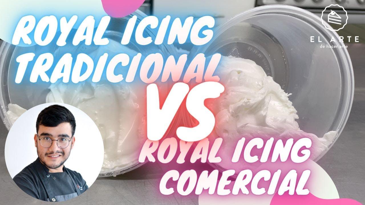 Royal Icing tradicional VS Royal icing comercial - El arte de hacer arte