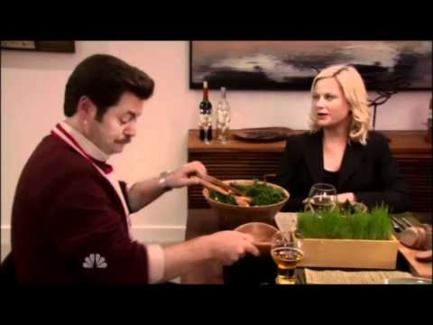 Salad Is For Rabbits! - Parks And Recreation