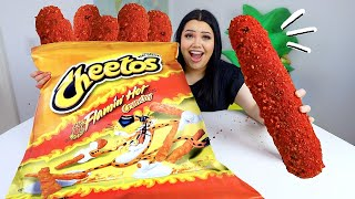 Making the Biggest DIY Hot Cheetos in the World! (because quarantine)
