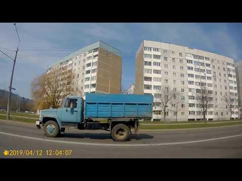 Могилёв.Поездка на троллейбусе №3 ТЭЦ-2 - пл.Орджоникидзе.