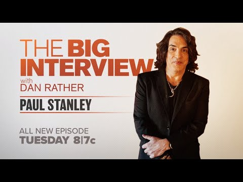 Bo and Jim - Paul Stanely gets the Big Interview treatment from Dan Rather!