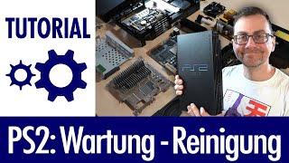 PlayStation 2: Demontage, Wartung, Reİnigung - so bringt ihr die PS2 auf Vordermann