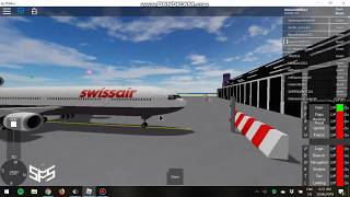 Roblox SFS flight simulator | Testing the MD-11