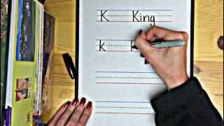 "How to Write Letter ""K"""