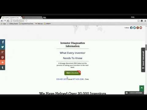 Inventions And Patents Help - Inventors Assistance League - inventions.org - 1