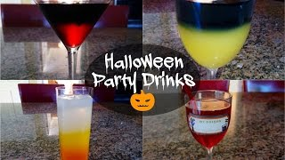 Halloween Party Drinks: Alcoholic & Non-Alcoholic