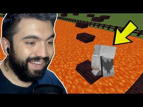 DAYIMIZLA EĞLENCELİ PARKUR HARİTASI !!! (Minecraft)
