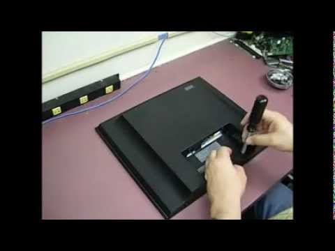 Repairing a LG L1932TQ LCD monitor with powerup issues - Part 1 disassembly