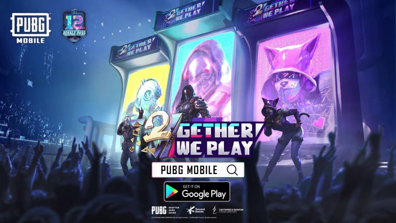 PUBG MOBILE - Royale Pass Season 12 - 2gether We Play - YouTube