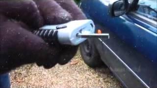 Скребок для окон автомобиля