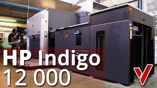 HP Indigo 12000 w ViperPrint
