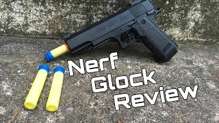 honest review the nerf glock foam dart gun
