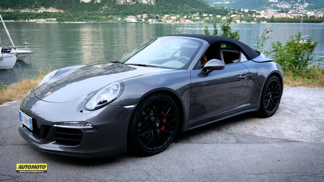 Porsche 911 Carrera 4 Gts Cabrio Test Youtube