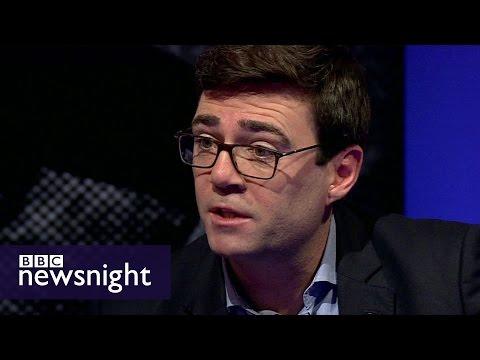 Andy Burnham: Labour needs to address immigration concerns - BBC Newsnight