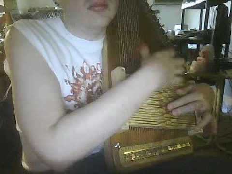 I'll Fly Away on the autoharp