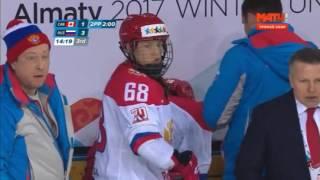 Универсиада 2017. Хоккей. Женщины. Финал. Канада - Россия. Фантастический 3-й период. 1-4.