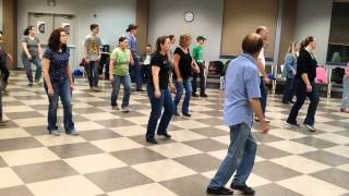 Rons electric slide line dance on youtube