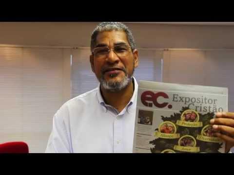 Bispo Luiz Vergílio incentiva leitura do Expositor Cristão