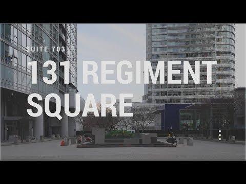 703 - 131 Regiment Square Presented by Gaëtan Kill & Jamie Wegner - Realtors with Engel & Völkers