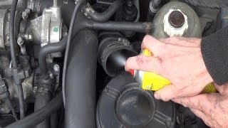 EGR valve cleaning WITHOUT DISMANTLING - Cleaner kit test Before/After