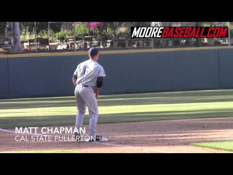 Matt Chapman Prospect Video, 3B