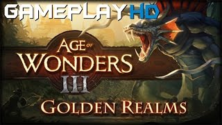 Age of Wonders III - Golden Realms Expansion Gameplay (PC HD)