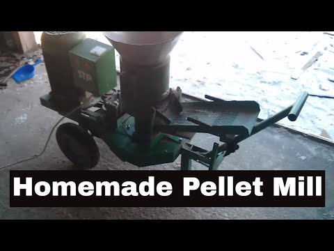 Homemade Pellet Mill
