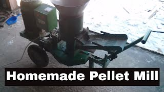 Repeat youtube video Homemade Pellet Mill