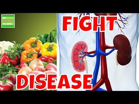 FIGHT KIDNEY DISEASE  with These Nutrients