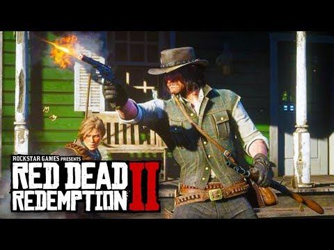 RED DEAD REDEMPTION 2 GAMEPLAY + GIFT FROM ROCKSTAR GAMES!