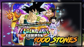 1000 STONES ON BARDOCK!! GIVING AWAY A MULTIPLE LR ACCOUNT FOR FREE! | DRAGON BALL Z DOKKAN BATTLE