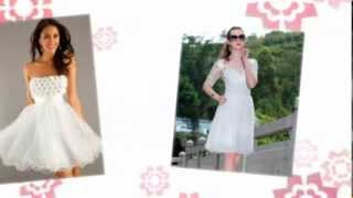 Короткие свадебные платья 2014 / Short wedding dresses 2014