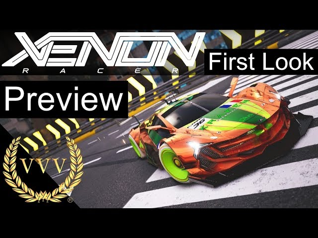 Xenon Racer - First Look Preview - Team Chat