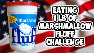 eating 1 lb of marshmallow fluff challenge   wheresmychallenge