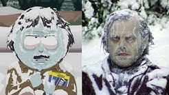 South Park Movie Reference - The Shining