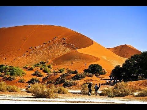 Намибия. Соссуфлей. Ночь в пустыне.