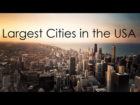 Top 10 Largest cities in USA.