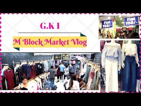 GK 1 M Block Market Delhi Vlog I Travel With Me to Greater Kailash I Simi Bella