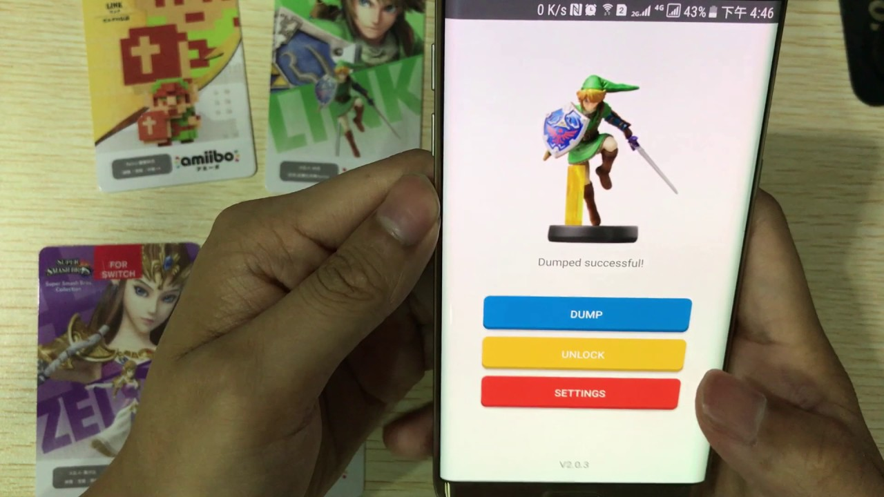 How to dump from amiibo card to n2elite amiiqo for Nintendo Switch?
