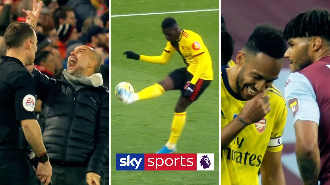 The FUNNIEST moments of the 2019/20 Premier League season!