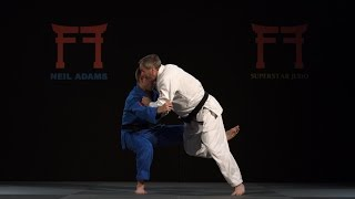 Neil Adams - Inoue's Ouchi gari against right handed opponents