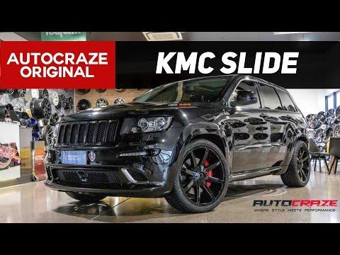 FIRED UP // KMC Slide Wheels | Jeep SRT Rims | AutoCraze 2017