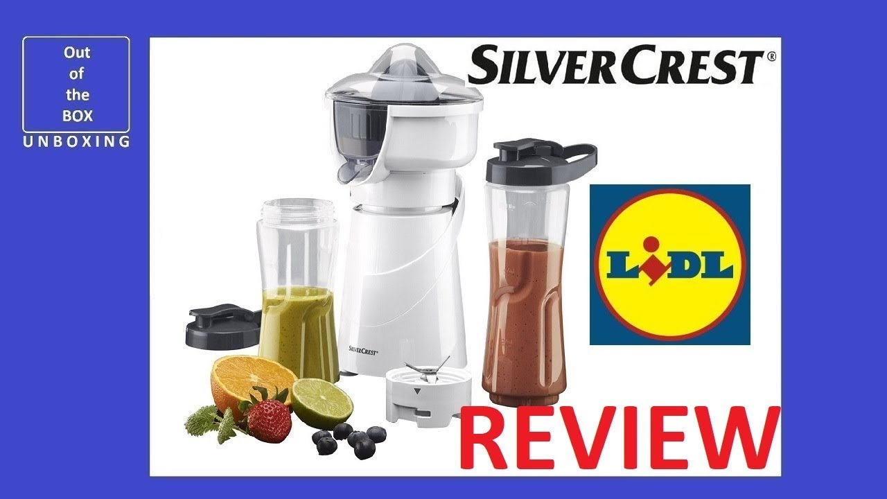 Lidl Silvercrest Nutrition Mixer Test Review Silvercrest Smoothie Maker Ssmz 300 A1 Lidl 2 In 1 400ml 600ml 300w