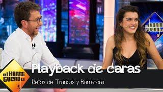 Amaia Romero juega al 'Playback de caras' - El Hormiguero 3.0