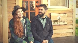 Tiny House Expedition Interview and Tiny House Tour - Crossing Paths with the Mortons