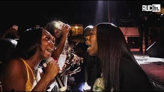 Kash Doll Fan Didnt Bend Break Or Fold Under Pressure Goes Bar For Bar With Her