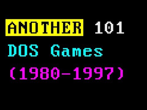 ANOTHER 101 MS DOS GAMES (1980-1997)