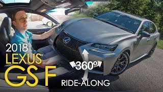 2018 Lexus GS F Ride-Along: SideCar with Craig Cole