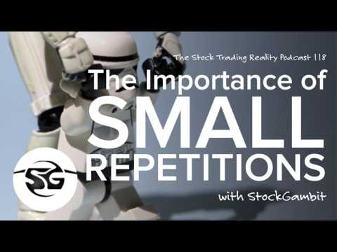 STR 118 - The Importance of Small Repetitions (audio only)