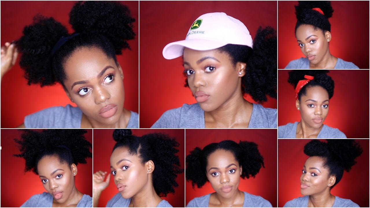 13 easy back to school hairstyles (natural 4c hair) | ma luchi